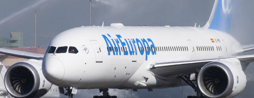 Air Europa (IATA: UX / ICAO: AEA) Boeing 787-8 Dreamliner EC-MIG at Tenerife Norte - Los Rodeos (TFN / GCXO)