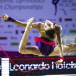 World champion Rhythmic Gymnastics teaches a course in Tenerife