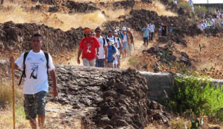 Thousands of pilgrims to travel Virgin of Candelaria in 13 August 2016 #bigwarmhug