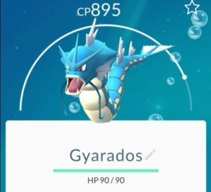 PokemongoTfe-gyarados. How and where to find Pokemon in Tenerife