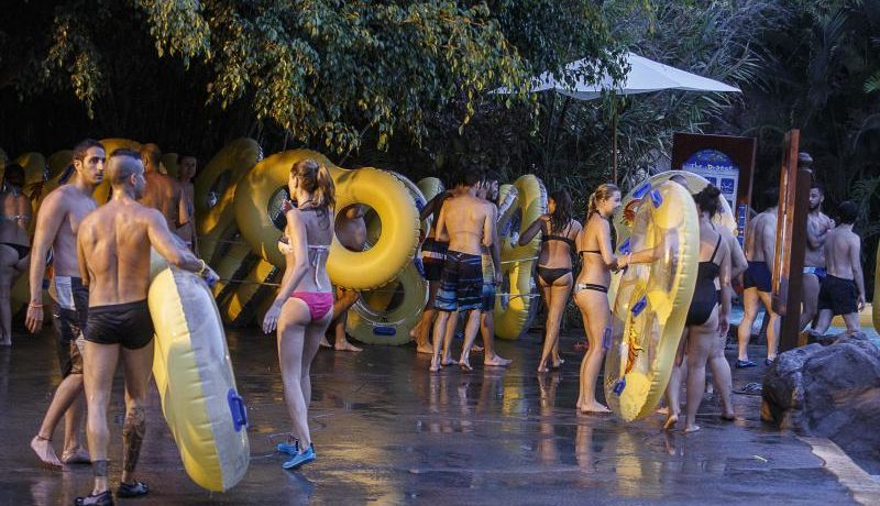 Fun and adrenaline under the moon of Siam Park in Costa Adeje Tenerife
