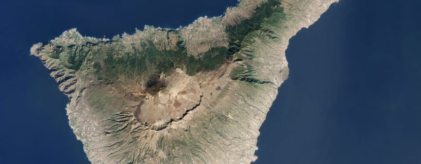 Tenerife Image of the Day August 30, 2016 - NASA Earth Observatory