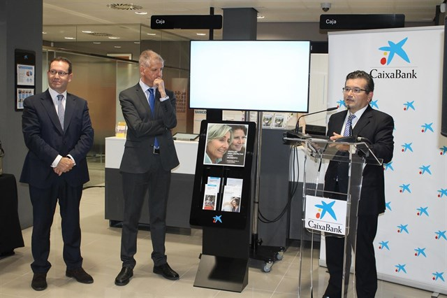 Caixabank opens the second office digitized Canarias in La Orotava, Tenerife