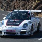 Eduardo Dominguez with his Ford Fiesta R5, wins Tenerife Island Rally 2016