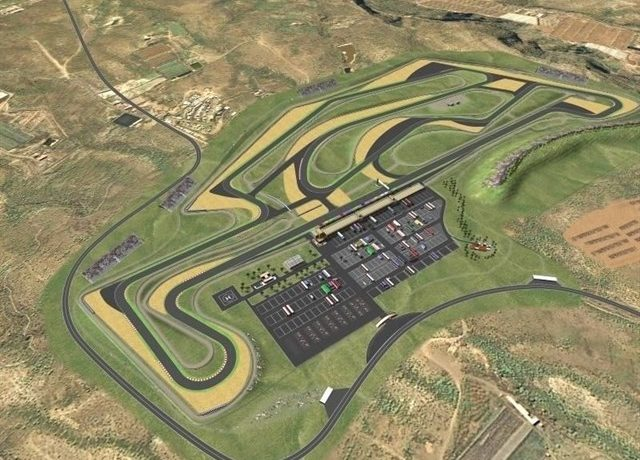 Tenerife's motor racing circuit earthworks are expected in November 2016