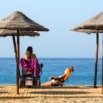 Las Vistas beach in south Tenerife is the only in Canarias that achieves the accessibility flag
