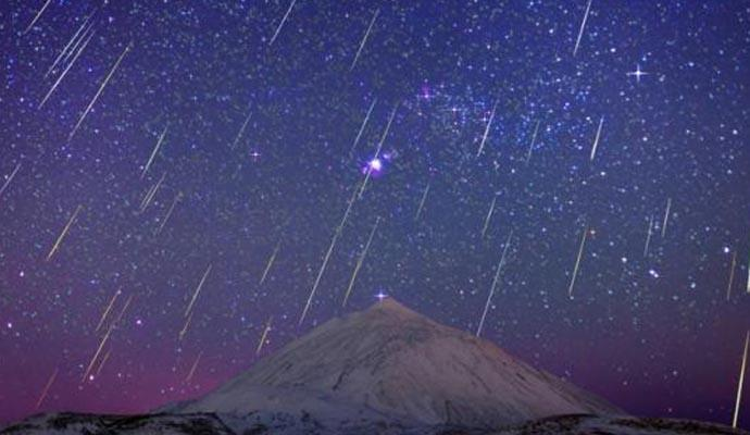Geminids Meteor Shower 2016 live from Canary Islands
