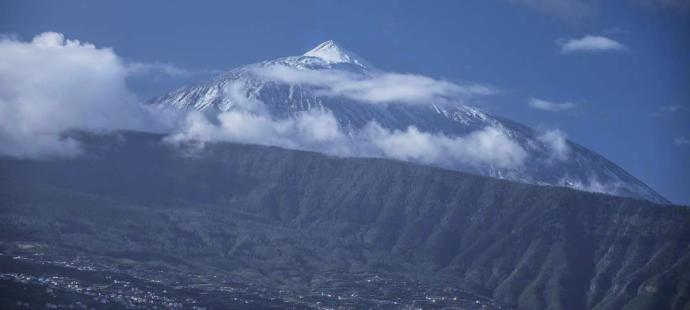 Mount Teide in snow | Teide mountain Tenerife | Teide park Tenerife