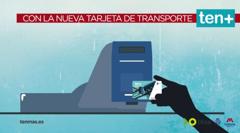 tenmas, the new Tenerife public transport contactless payments card