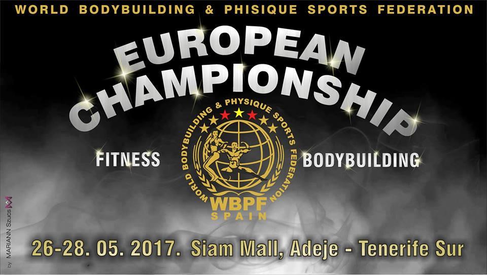 WBPF 8th European Championship 2017 Adeje Tenerife