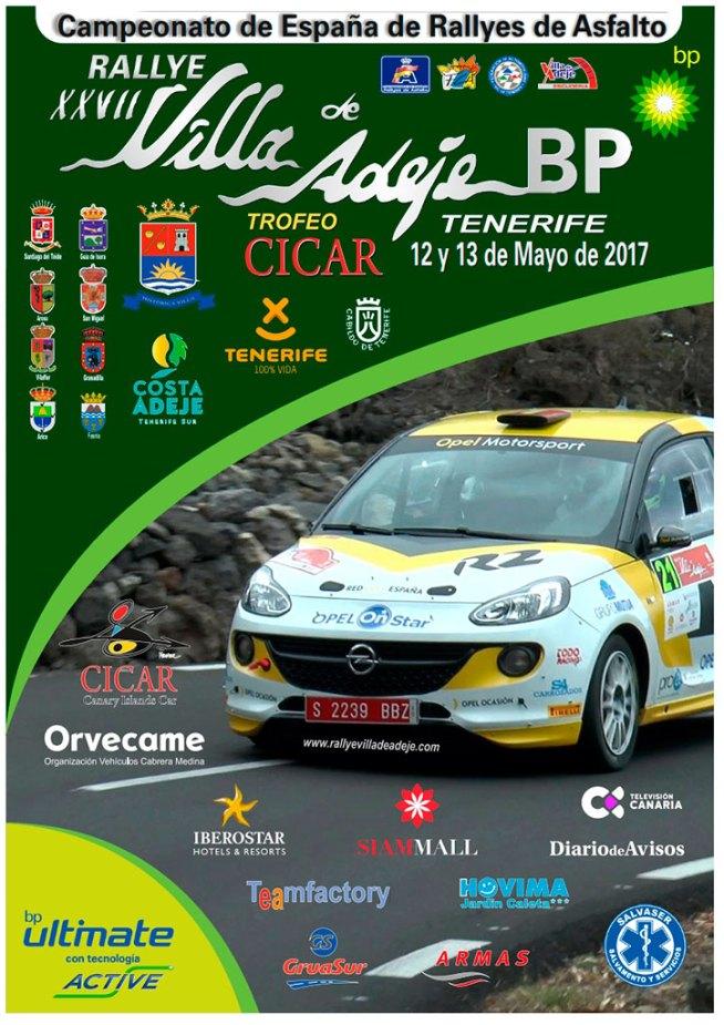 Rally Villa de Adeje Tenerife 2017