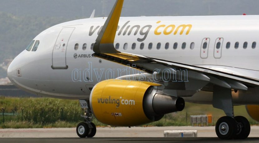 Vueling launches the routes Tenerife South-Lyon for the winter 2017/18