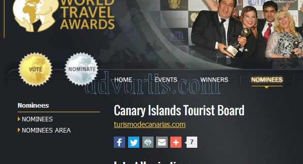 Europe Leading Island Destination 2017 - Canary Islands