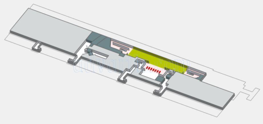 Tenerife south airport - Passenger Terminal Floor 1