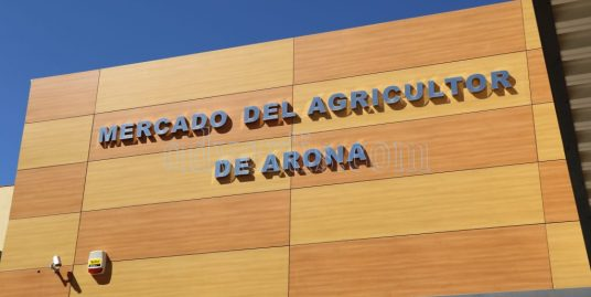 Arona Farmers Market opens its doors to the public on October 14 2017 in the old facilities of Coslo in Valle San Lorenzo