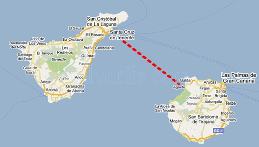 Christian Jongeneel swim 70 km between Tenerife and Gran Canaria without neoprene