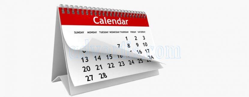Tenerife calendar