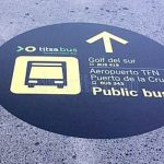 Titsa improves the information to users at Tenerife South Airport