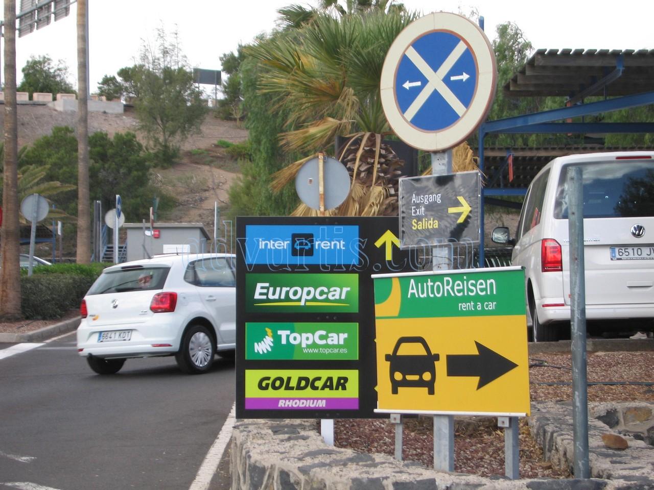 Car hire Tenerife airport south