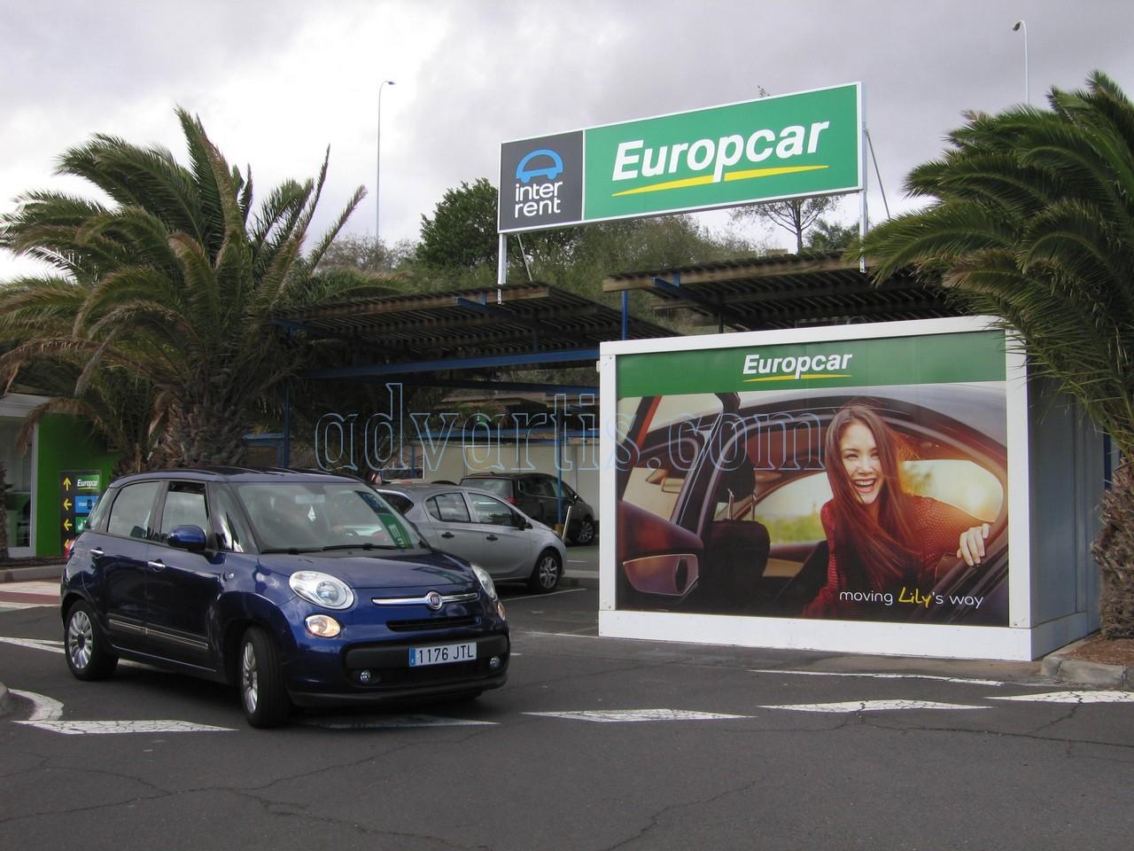 Car hire Tenerife airport south Europcar