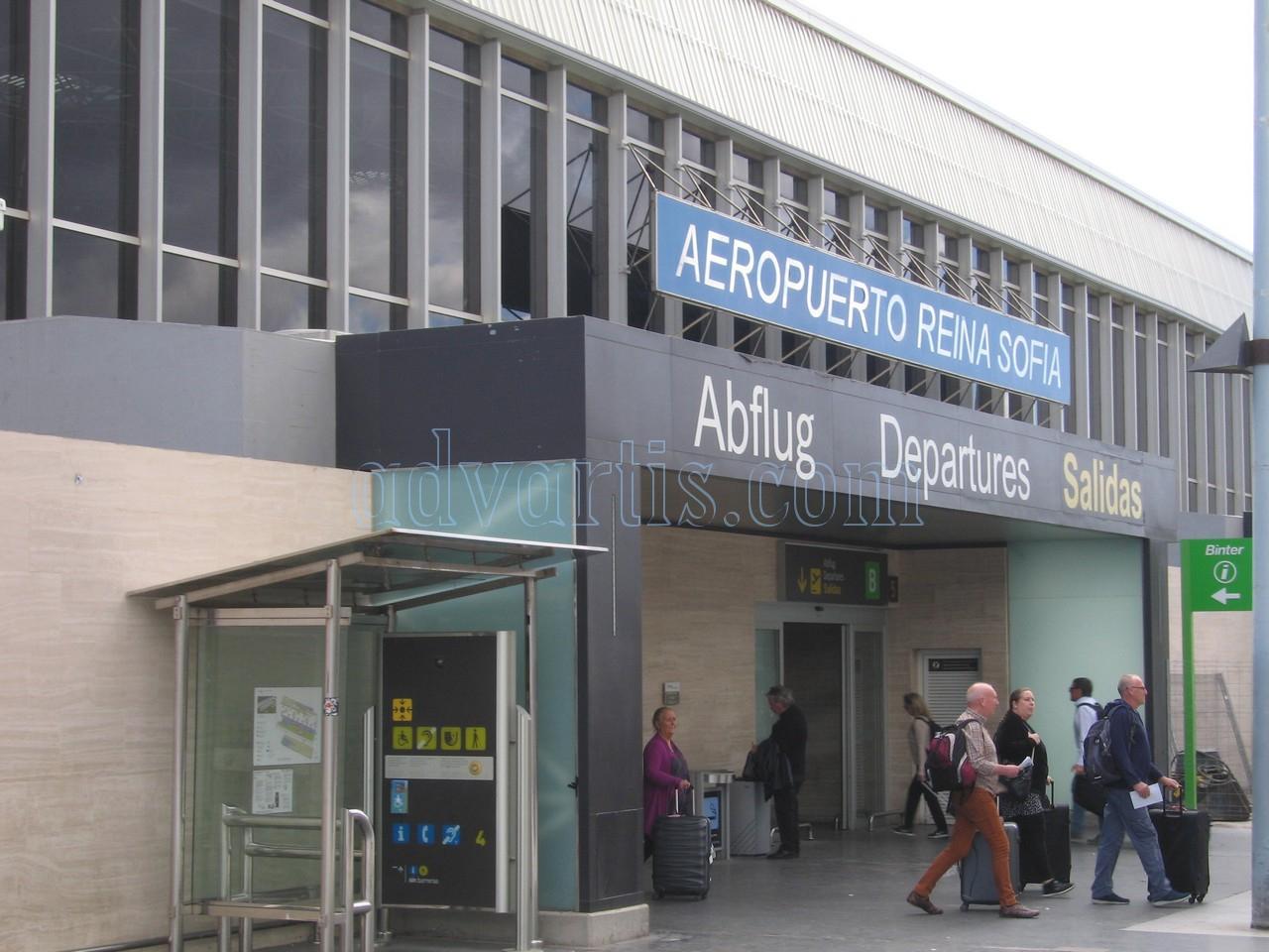 Tenerife south airport Departures
