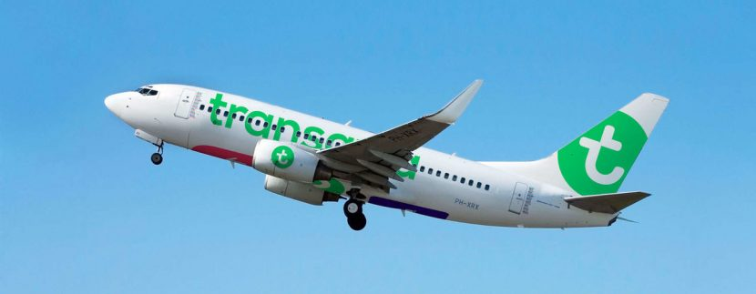 Transavia opens the Tenerife South-Paris route just before Christmas on December 22, 2018
