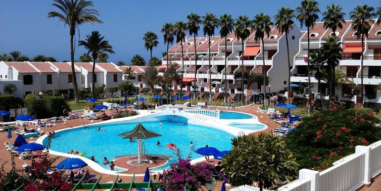 2 bedroom oceanfront apartment for sale in Las Americas Tenerife