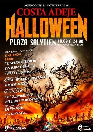 Halloween Streets in Costa Adeje Tenerife 2018