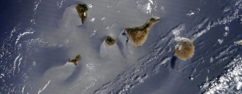 Canary Islands weather record a cold and dry January 2019
