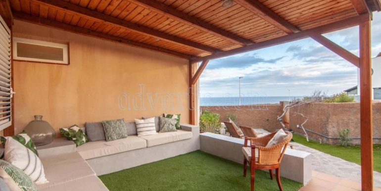 Oceanfront house for sale in El Medano Tenerife Spain