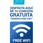 Tenerife 2030 network of 61 free wifi points for 537,000 euros
