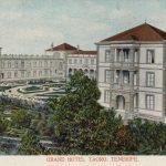 Cabildo de Tenerife awarded the exploitation of the old Grand Hotel Taoro in Puerto de la Cruz