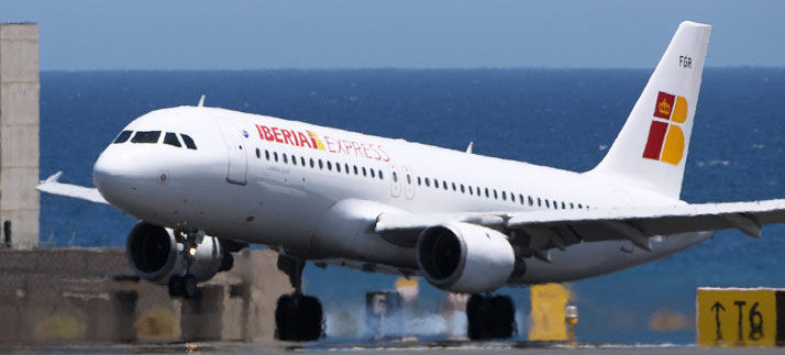 Tenerife the route with more traffic in summer 2019 of Iberia Express with 1,387 flights and almost 250,000 passengers