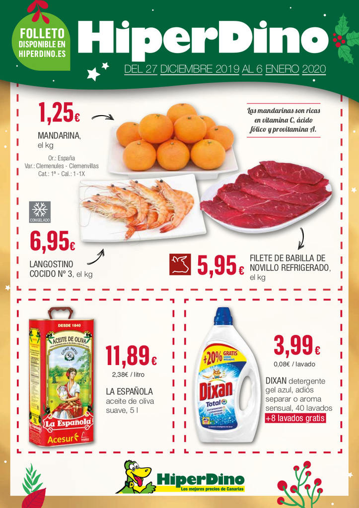 Food and drink prices Tenerife, Canary Islands, Spain - January 2020